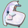 クリスタルなベッド