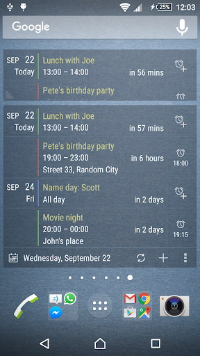 Agenda Widget for Android - Android Apps on Google Play