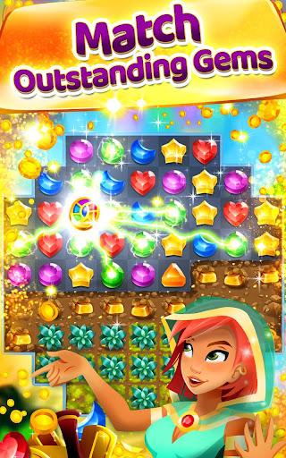Download Genies & Gems - Jewel & Gem Matching Adventure MOD APK 2