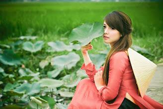 Photo: Album: Thiếu Nữ và Hoa Sen