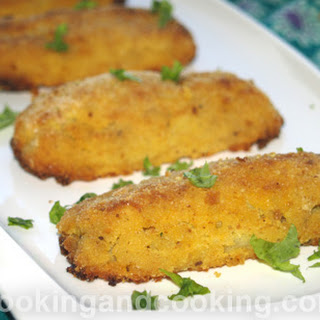 Potato Patties Stuffed with Ground Beef