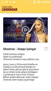 Ghoomar Song Videos - náhled
