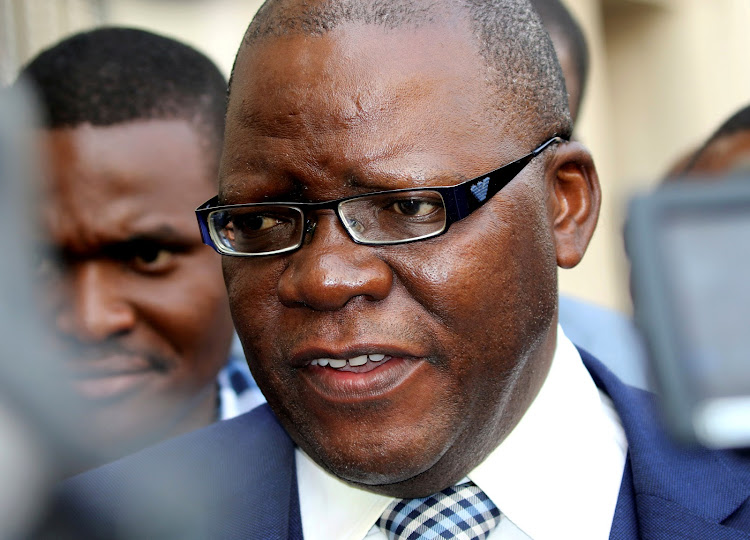 Tendai Biti was refused asylum by Zambian authorities.