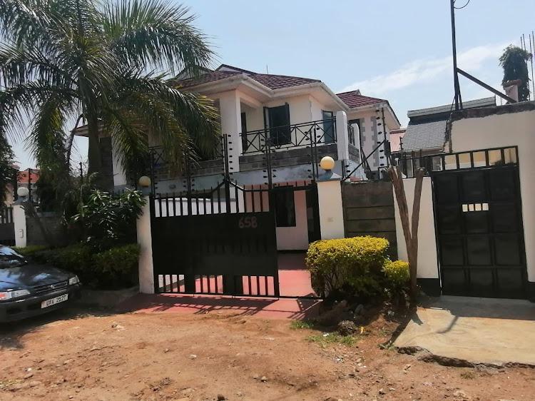 The apartment where Migori speaker Boaz Okoth lives in Kisumu