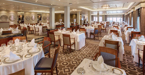 QM2-Princess-Grill-Restaurant.jpg - The Princess Grill Restaurant, available to guests in Princess Grill suites.