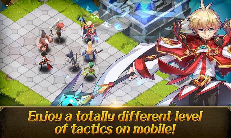 android Fantasy War Tactics Screenshot 1