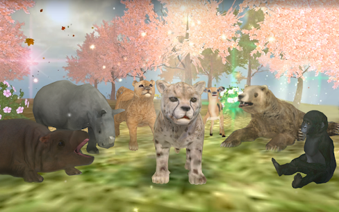 Wild Animals Online WAO 3.411 MOD + DATA (Unlimited Money) 5