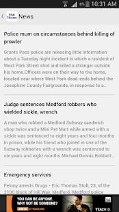 Mail Tribune, Medford, Oregon - náhled