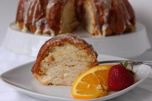 "Marmalade Cream Cheese Coffee Cake ""This coffee cake recipe is full of..."