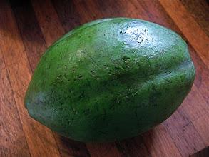Photo: green papaya