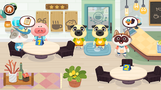 Dr. Panda Café- screenshot thumbnail