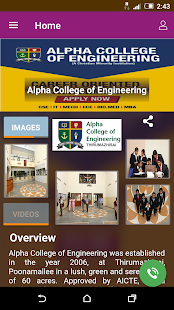 Alpha College of Engineering - náhled