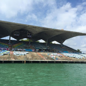 Miami Marine Stadium by Vlady Tom - Buildings & Architecture Decaying & Abandoned