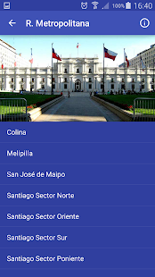 Meteorología Chile - náhled