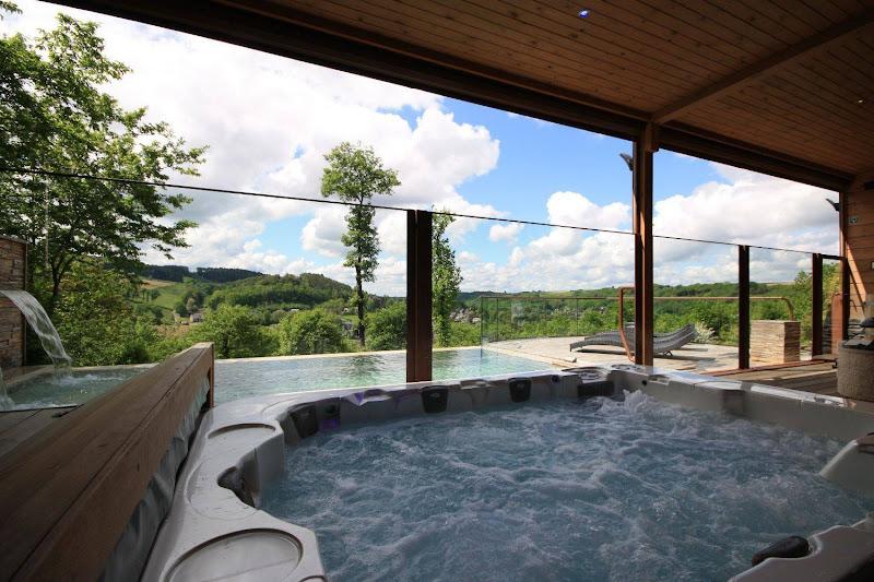 Luxury Wellness Chalet Ardennes Durbuy