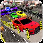 Modern Car parking simulator –Crazy car stunt 2019 icon
