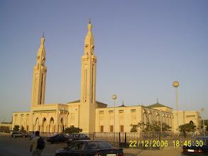 Photo: Die große Moschee von Nouakchott, natürlich mit saudischem Geld gebaut.