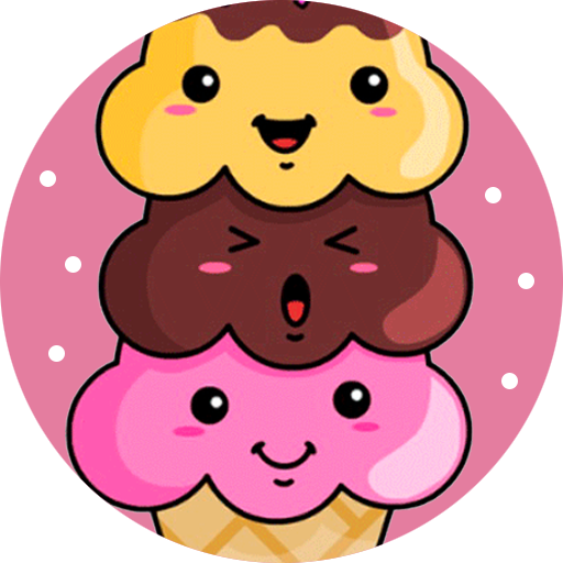 How to draw cute food icon