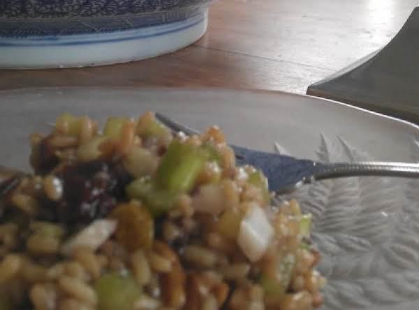 Sweet And Savory Summer Wild  Rice Salad Recipe