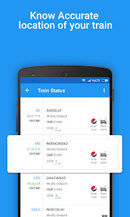 App Train Running Status, PNR Status & Railway enquiry APK for Windows Phone