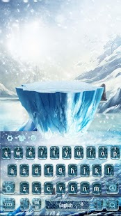 Ice and snow legendary keyboard - náhled