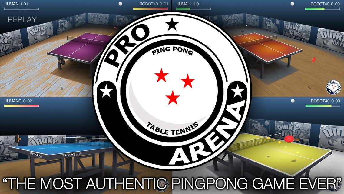 Pro Arena Table Tennis- screenshot