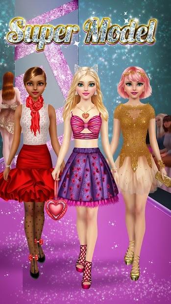 Top Model - Dress Up and Makeup Android App Screenshot