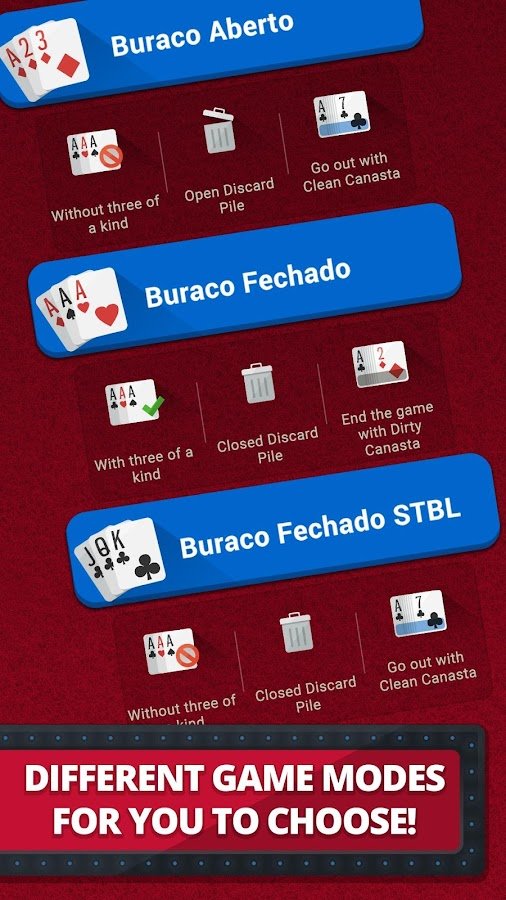 Royal Buraco - Card Game- screenshot