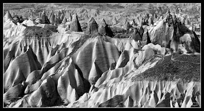 Photo: Cappadocia - Landscape My contribution to #monochromemonday Curator +Siddharth Pandit  #fineartplus #fineartpls #fineart #critiquepls #plusphotoextract by +Jarek Klimek