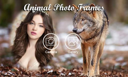 Animal photo frame