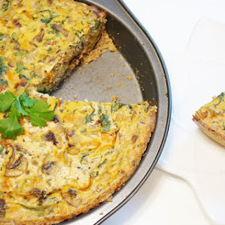 Egg and Tofu Veggie Quiche