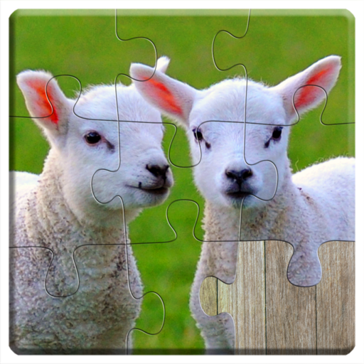 Animals Jigsaw Puzzles Game - For Kids & Adults 🐇