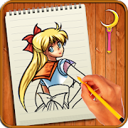 Learn to Draw Sailor Moon Characters icon