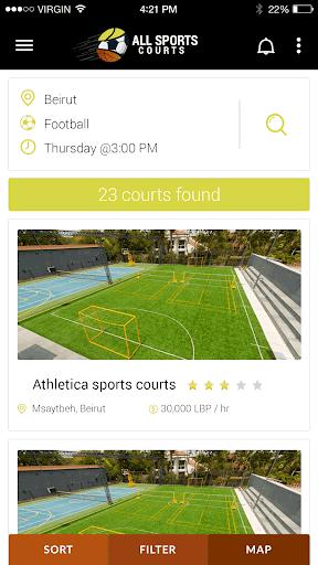 all sports courts screenshot 3