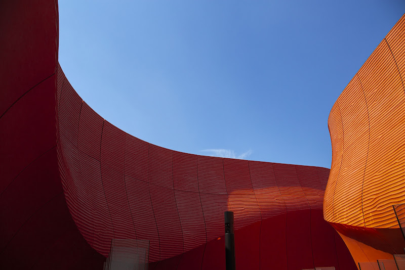Un muro di arancio di V:V