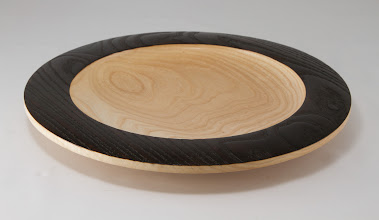 "Photo: Mike Twenty 11"" x 1 1/4"" platter [ash]"