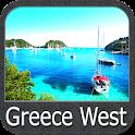 Greece West GPS Map Navigator icon