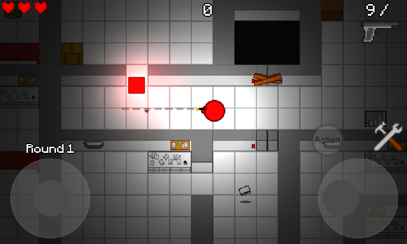 Zombie Cubes Free- screenshot