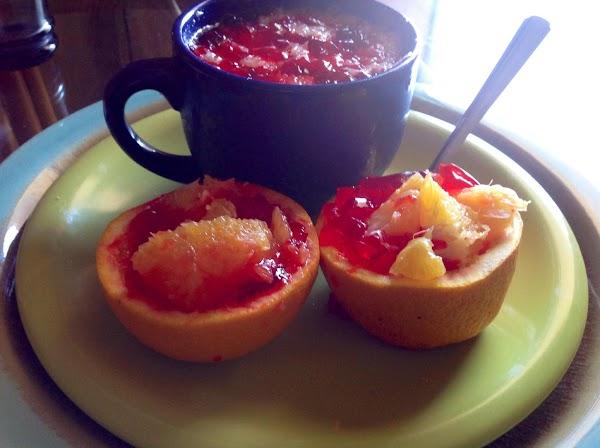 Naturally Delicious Orange Slice Jello Bowls Recipe