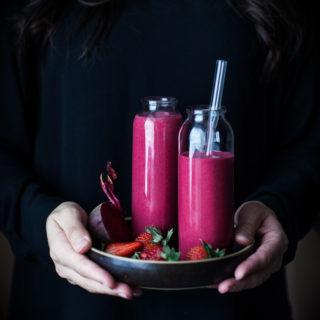 Cherry Berry Beet Smoothie Recipe