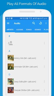 AVR Player - HQ Audio, Video & Radio Player - náhled