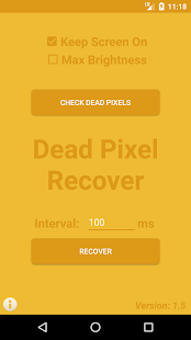 Dead Pixel Recover - náhled