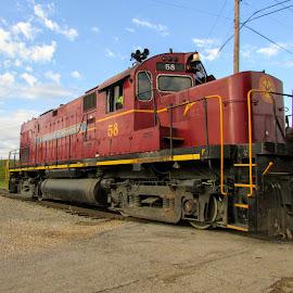 A&M 58 by Rick Covert - Transportation Trains ( railroad, locomotive, arkansas, railroad tracks, arkansas photographer, trains )