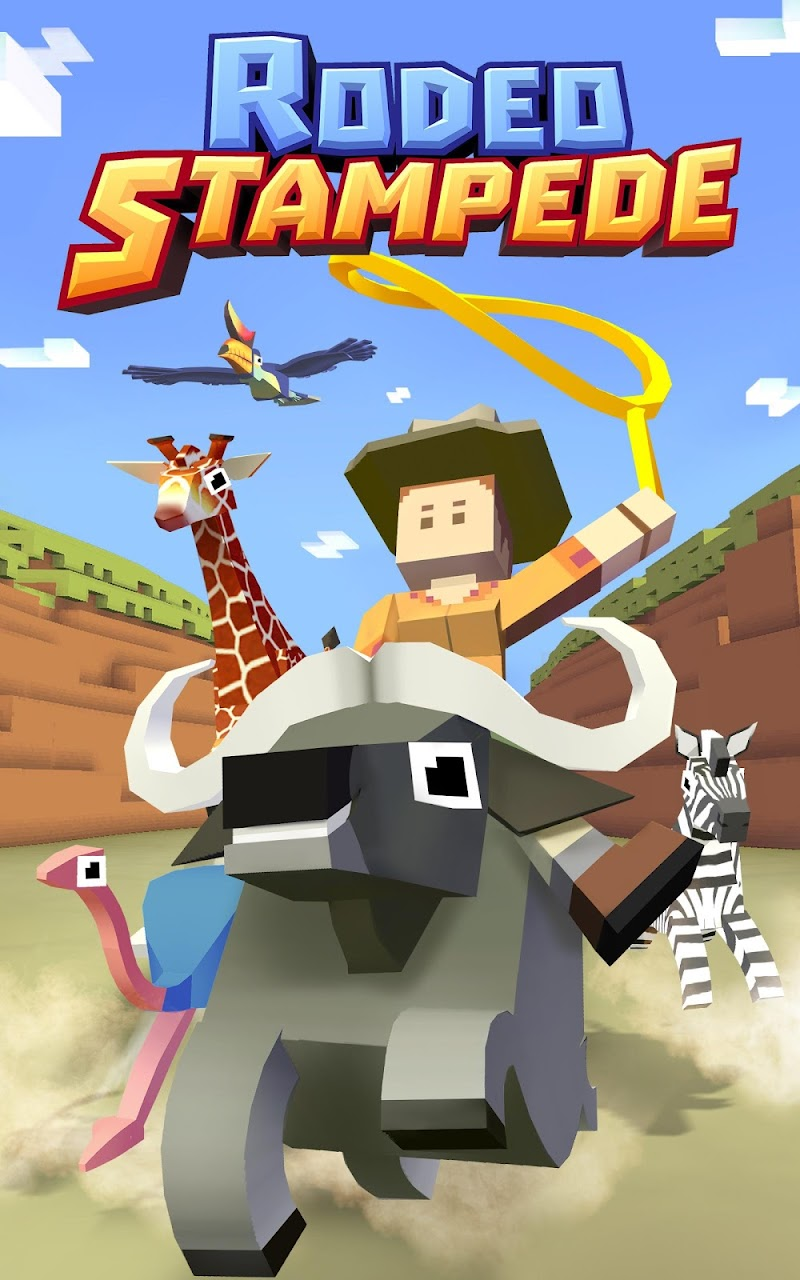 Rodeo Stampede:Sky Zoo Safari Screenshot 7
