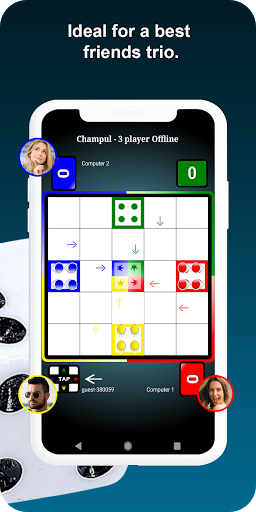 Indian Ludo (Champul Game Online 2020) 7.3 screenshots 11