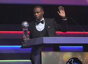 Thembinkosi Lorch was voted South Africa's best player during the Premier Soccer League awards ceremony at the ICC in Durban on Sunday May 19 2019.