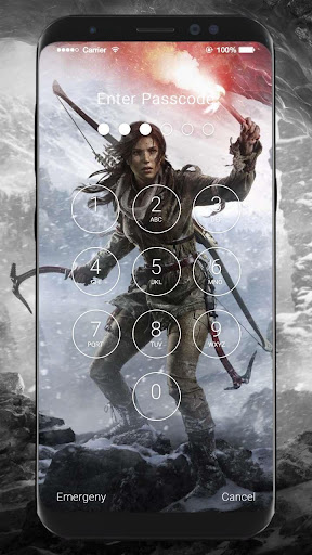 Tomb Raider HD Wallpapers Lock Screen 1.0 screenshots 6