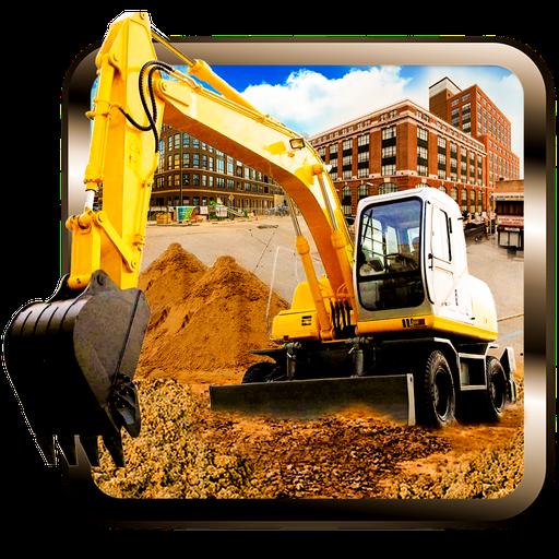 施工挖掘機 sim 卡 模擬 App LOGO-硬是要APP