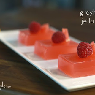 Ruby Red Grapefruit Jello Shots.