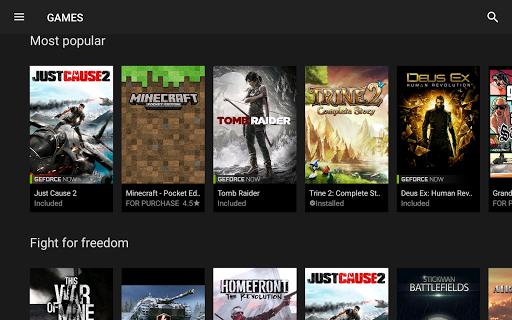 NVIDIA Games 4.12.20977108 Screenshots 14